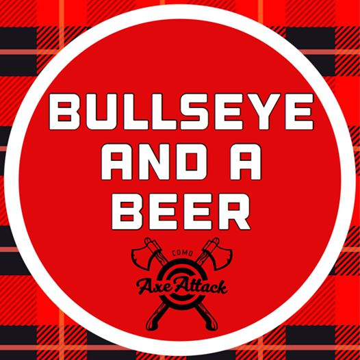 sign - bullseye and a beer