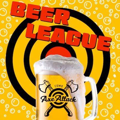 Beer leagues at COMO Axe Attack in Columbia MO